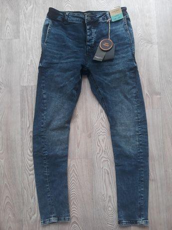 Модные зауженные темно-синие джинсы! House Denim;)