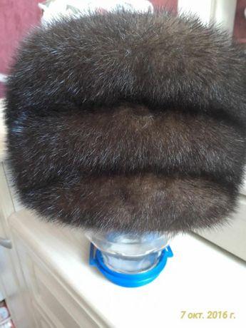 Норковая шапка женская. Идеальное состояние