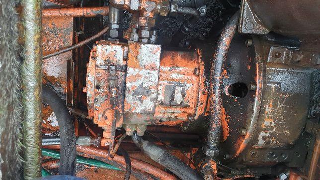 koparka atlas 1704 kołowa pompa hydrauliczna LINDE HPR 130