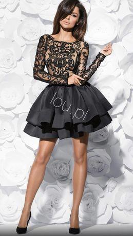 Sukienka Lou louboutin alessia S L M 40 38  36 sylwester