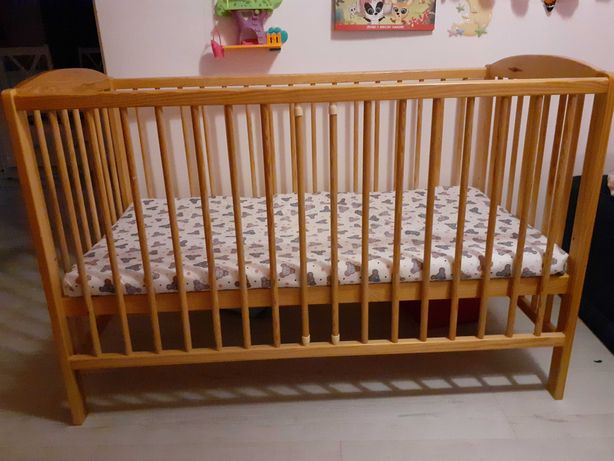 Sprzedam łóżeczko dziecięce 120x60