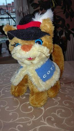 Maskotka kot w kapeluszu