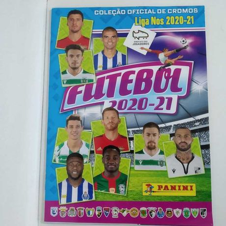 Caderneta Futebol 2020/21 Liga Nos da Panini Vazia Nova