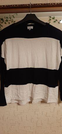 Czarno biały sweterek