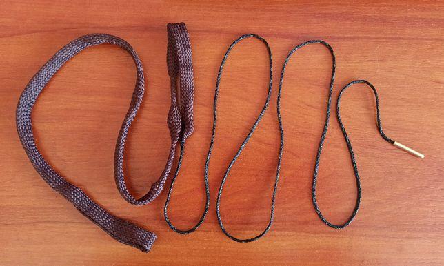 Wycior sznur boresnake 4,5mm .17 .177 bore cleaner szczotka do broni