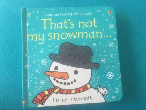 That's not my snowman  Usborne stan BDB