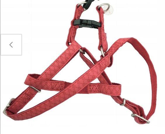 Szelki dla Psa Mac Leather  Czerwone
