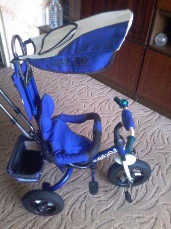 14продам детский велосипед трехколесный лексус трейх