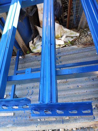 Estantes como novas prateleiras racks 3.20 x 1 metros pesada ou média