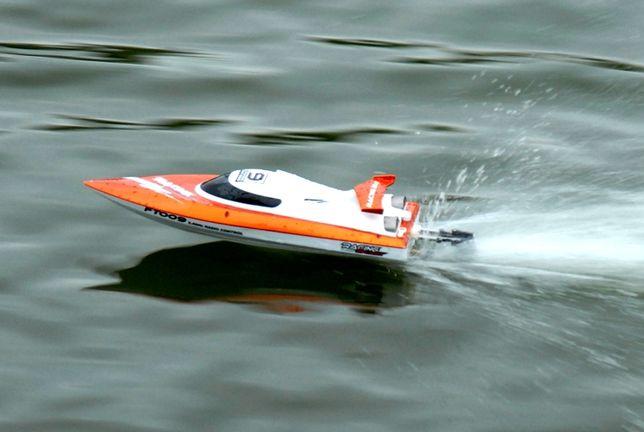 Катер на радиоуправлении Fei Lun High Speed Boat (оранжевый) АКЦИЯ
