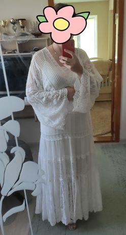 Продам белое платье, свадебное ULLA GOHNSON