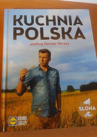 Książka kucharska lidla Kuchnia Polska wg Karola Okrasy