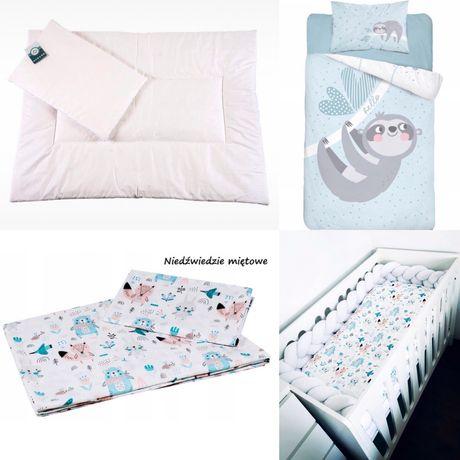 Zestaw do łóżeczka kołdra poduszka pościel
