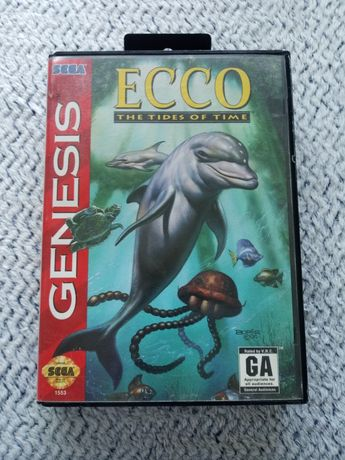 Gra Sega Genesis Ecco the tides of time