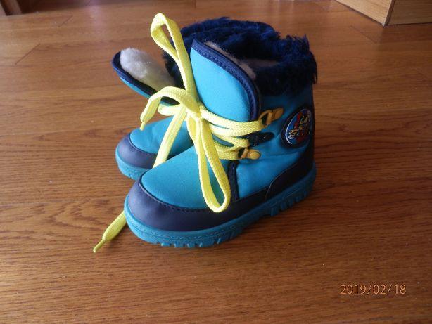 Buty buciki kozaki śniegowce rozm.24