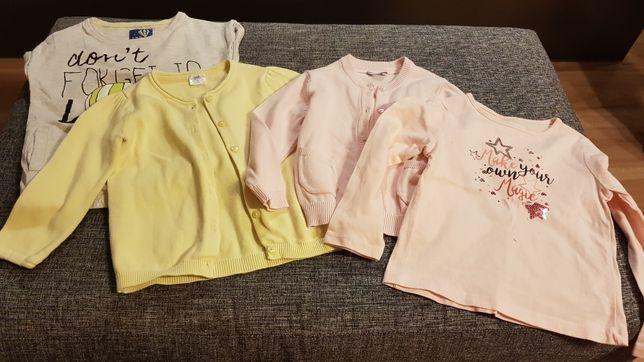 Swetery bluzki koszulki 86 98