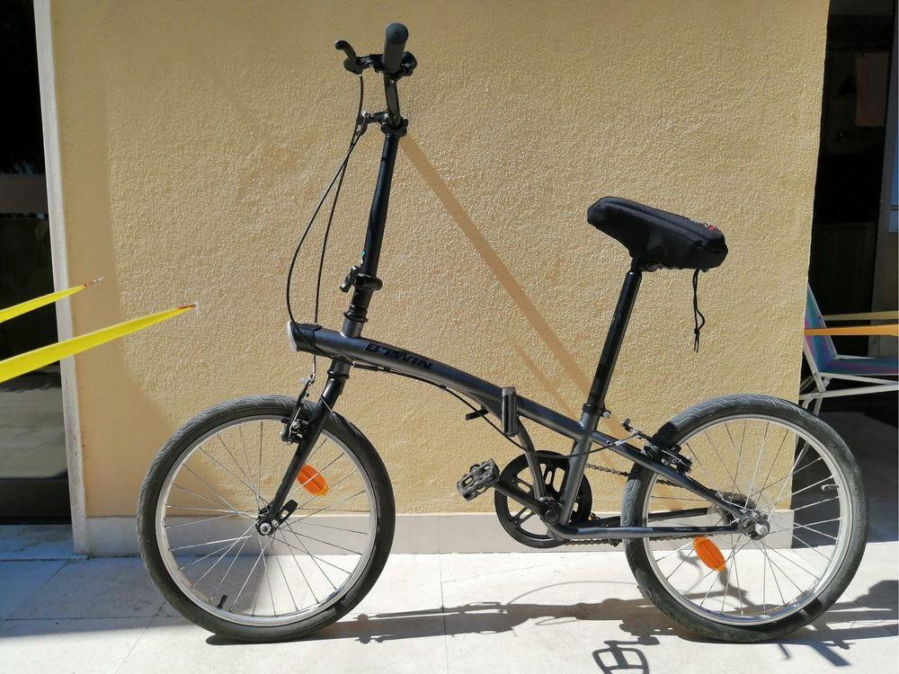 Bicicleta btwin dobravel em optimo estado - OFERTA de assento protecto
