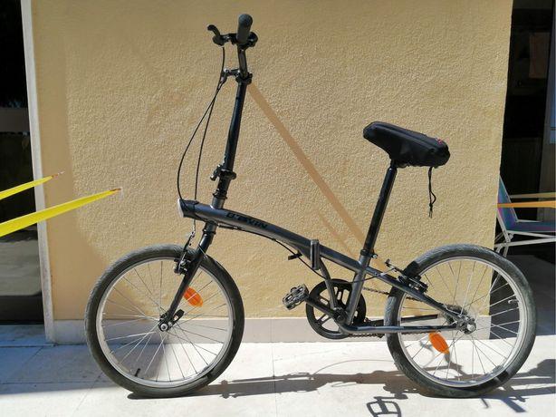Bicicleta btwin dobravel em optimo estado