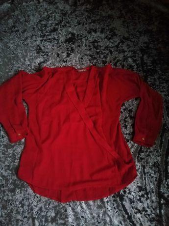 Lekka czerwona koszula