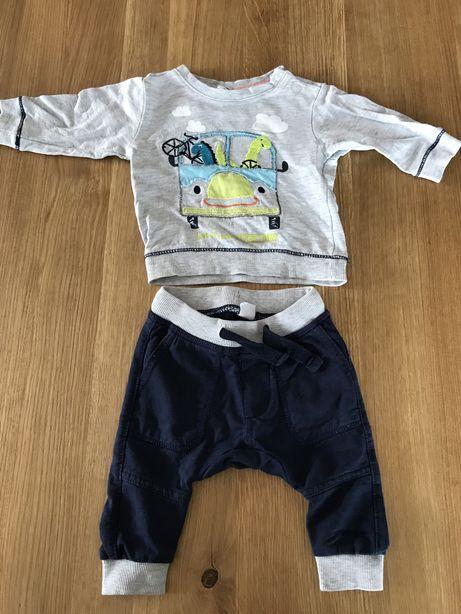 Komplet bluza i spodnie 62 smyk zestaw