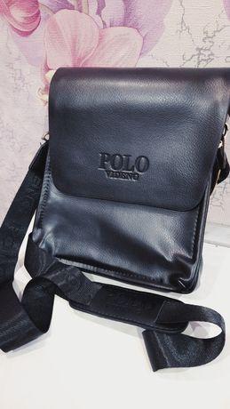 Стильная мужская сумка на плечо