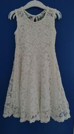 Koronkowa sukienka dla dziewczynki rozm98/104