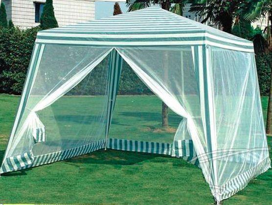 Коллекционная Шатер садовый 3х3 м палатка с москитной сеткой тент