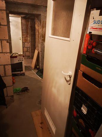 Drzwi łazienkowe i pokojowe 80 cm