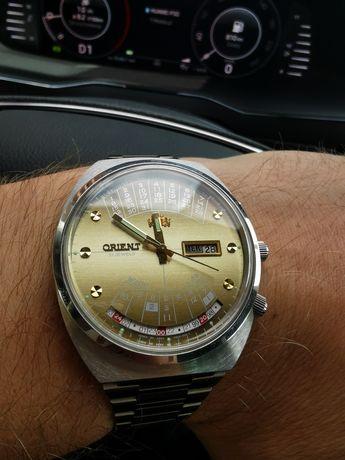 Zegarek męski Orient Cesarski Krolewski Patelnia Multicalendar Vintage