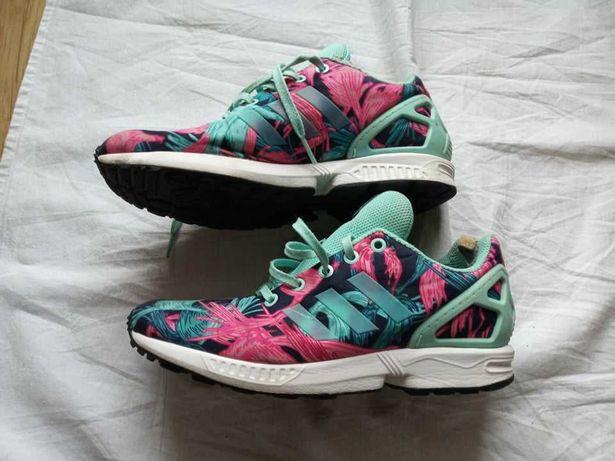 "Sneakersy damskie, adidasy multicolor - 38 - ""Adidas ZX Flux Torsion""."