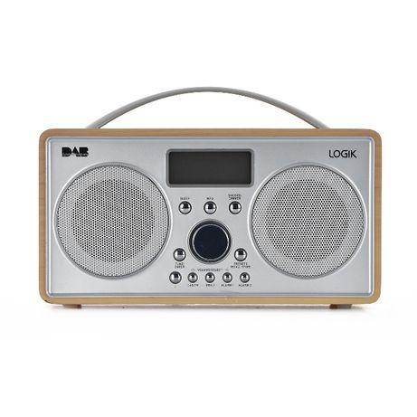 Radio Logik L55DAB15 FM DAB Drewno; Gwarancja 25 miesięcy, FV.