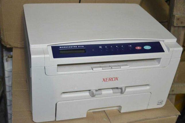 МФУ лазерное (принтер, сканер, копир) Xerox WorkCentre 3119