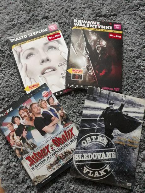 Zestaw Nowych filmów DVD