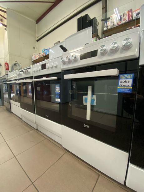 Kuchnia Beko gazowo-elektryczna biała /teromoobieg/ MAXI-MEDIA