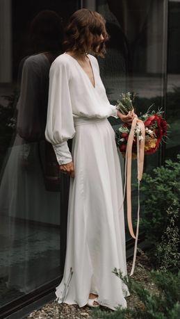 Suknia Ślubna - komplet ślubny
