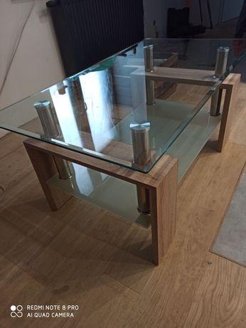 Ława szklana stolik kawowy stół