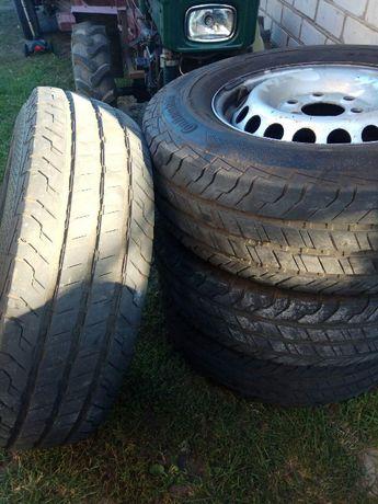 Літня гума з дисками R16 Mercedes Sprinter