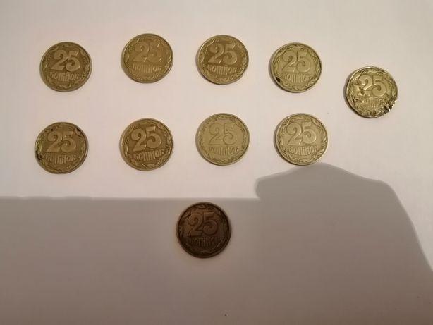 Монета 25 копеек