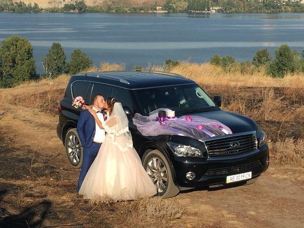 Прокат Аренда авто (автомобиля) на свадьбу, VIP встречи. Infiniti