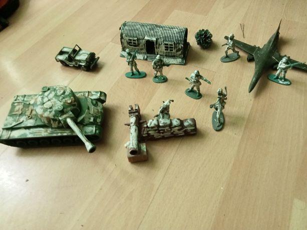 Elementy do makiet wojskowe