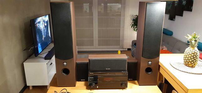 Kino domowe - Amplituner Pioneer VSX-519V / Głośniki Amtech HTS-006