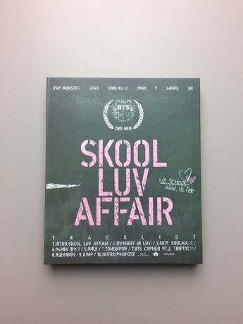 BTS Skool Luv Affair cd album