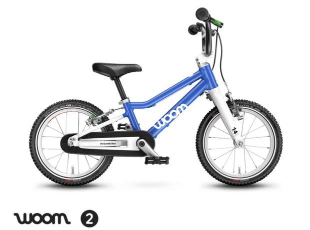 Rower Woom 2 niebieski nowy model 2021 gwarancja, wysylka, od reki