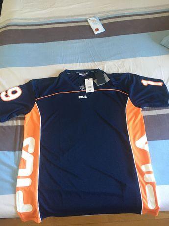 Tshirt estilo NFL da Fila