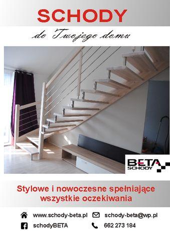 Schody Dystansowe Bolcowe Drewniane Warszawa Mazowieckie Cała Polska