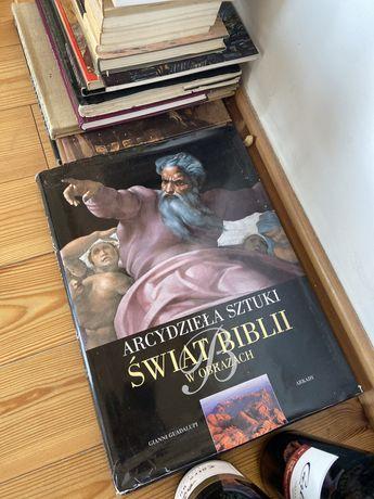 Album - arcydzieła sztuki Świat biblii w obrazach historia sztuki