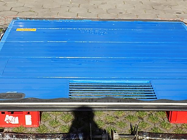 Brama panelowa, segmentowa ,garażowa 254x255cm