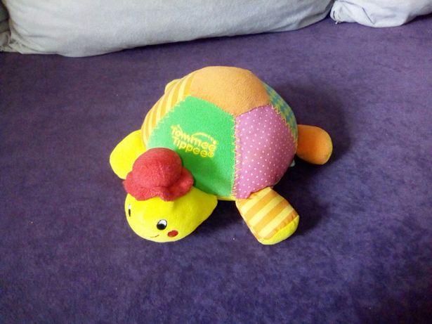 Wesoły żółw Tommee Tippee dla maluszka - gra, szeleści, piszczy