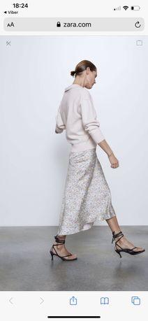 ZARA- новая вискозная юбка, текущая коллекция 2020