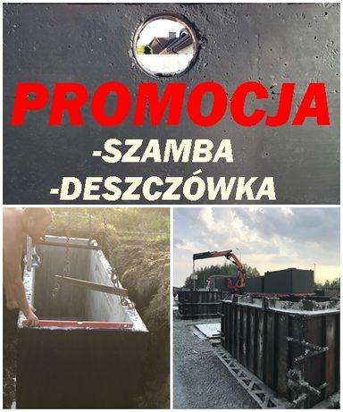 Szambo Szczelne 8m3 Zbiornik na deszczówkę 8kubików Hajnówka Narewka
